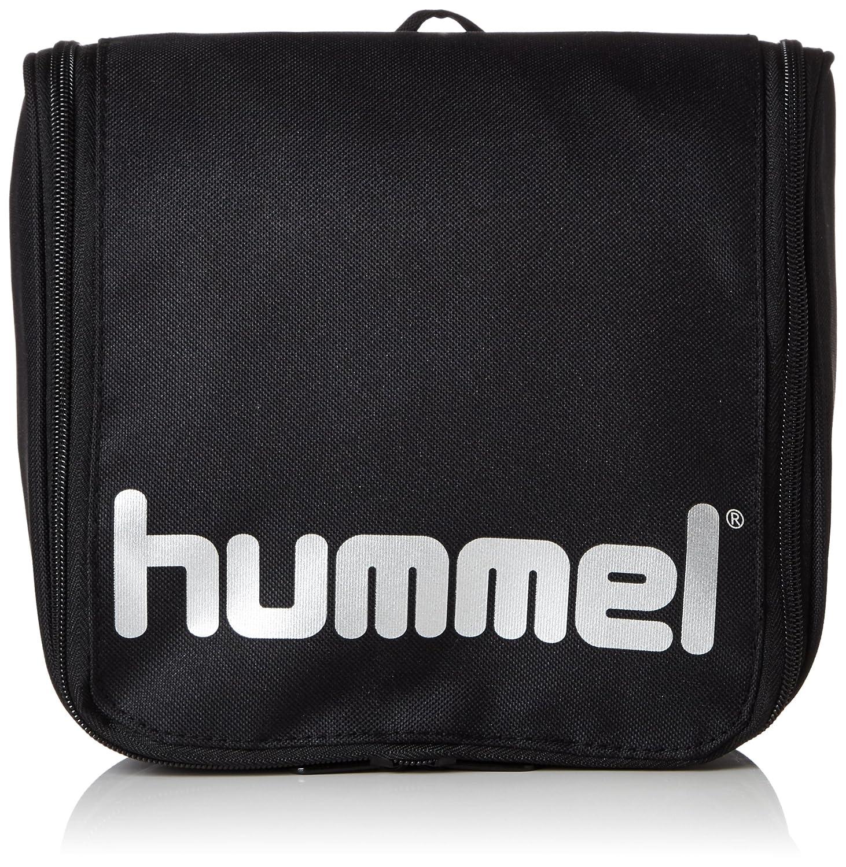 Hummel Authentic Neceser Bolsa Neceser Negro-Plata Black/Silver, estándar 40-965-2250