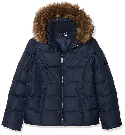 Tommy Hilfiger Mädchen Jacke Essential Basic Jacket