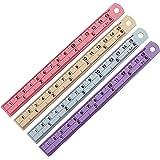 The Aluminum Ruler 4 Pcs. 6 Inches