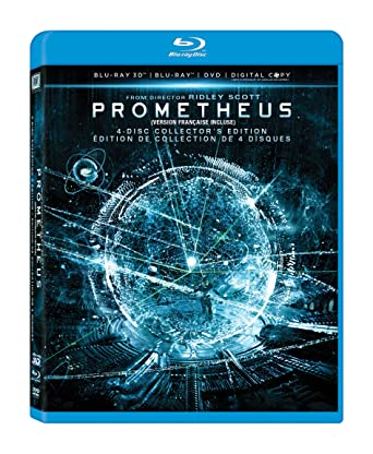 Amazon Com Prometheus Blu Ray Noomi Rapace Logan Marshall