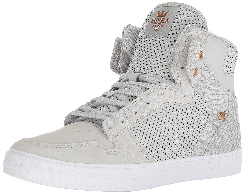 Supra Vaider Skate Shoe B074KG249Y 7 M US Cool Grey/Copper-white