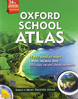 Amazon buy atlas of the world book online at low prices in india oxford school atlas old edition gumiabroncs Images