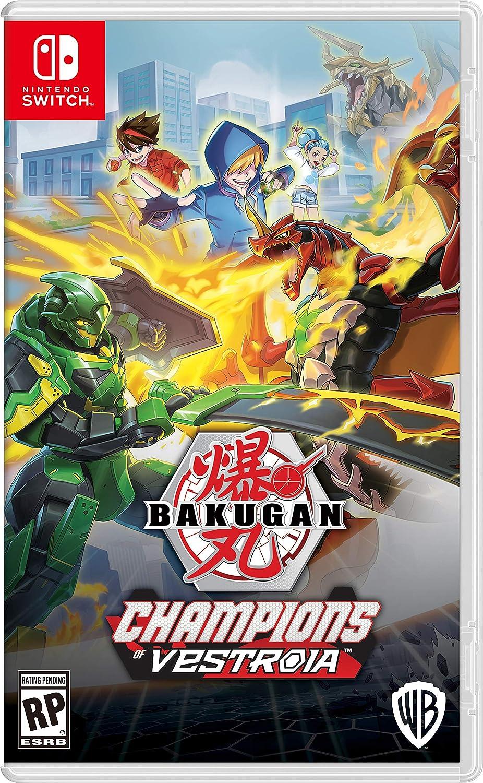 Amazon.com: Bakugan: Champions of Vestroia - Nintendo Switch: Whv Games:  Video Games