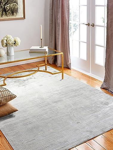 Bashian radiance collection WZ hand loomed 100 banana silk area rug