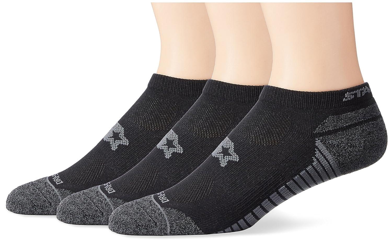 Starter Mens 3-Pack Athletic Microfiber Low-Cut Ankle Socks Exclusive
