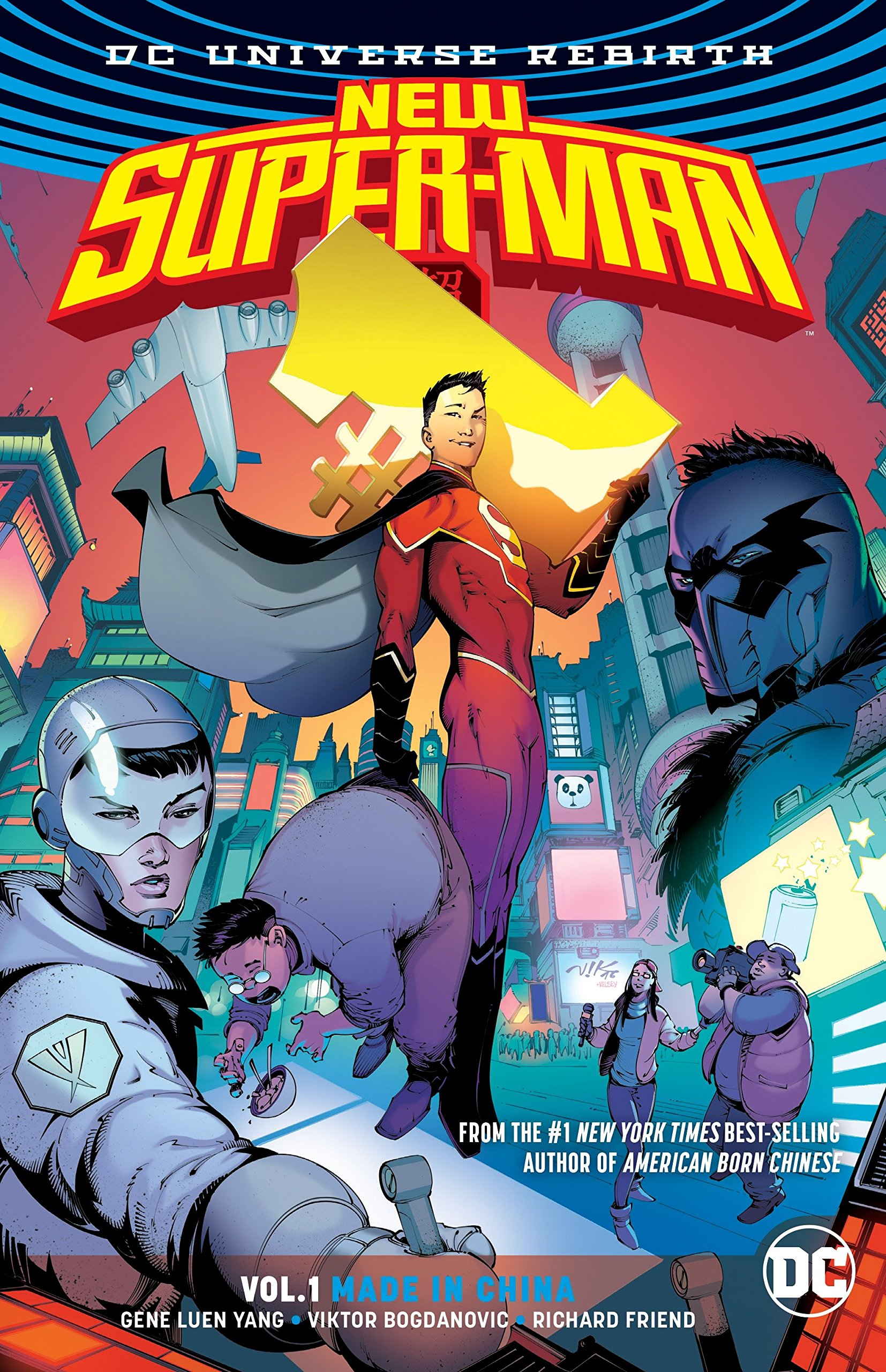 Amazon.com: New Super-Man Vol. 1: Made In China (Rebirth) (9781401270933):  Gene Luen Yang, Viktor Bogdanovic: Books