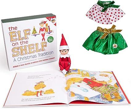 Amazon.com: The Elf on the Shelf edición de elfo ...