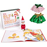 The Elf on the Shelf - Girl Elf Edition with North Pole Blue Eyed Girl Elf , Bonus Pair of Party Skirts, and Girl-character Themed Storybook