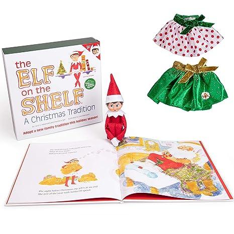 Amazon Com The Elf On The Shelf Girl Elf Edition With North Pole