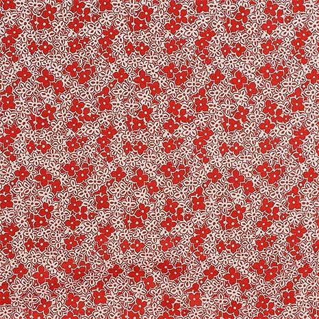 Hojas impresión tela 100% algodón tapicería acolchado Craft ...