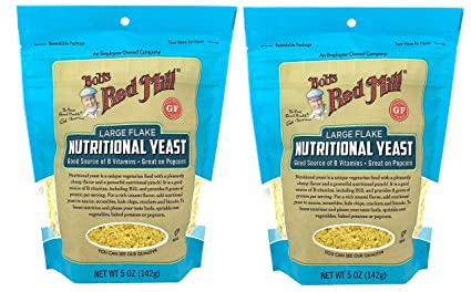 Bob's Red Mill Large Flake Nutritional Yeast 5 Ounce (Pack of 2)