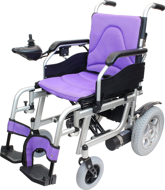 ケアテックジャパン 電動車椅子 ハピネスムーブ CE20-HSU-12 (パープル) B07717V9V7 パープル パープル