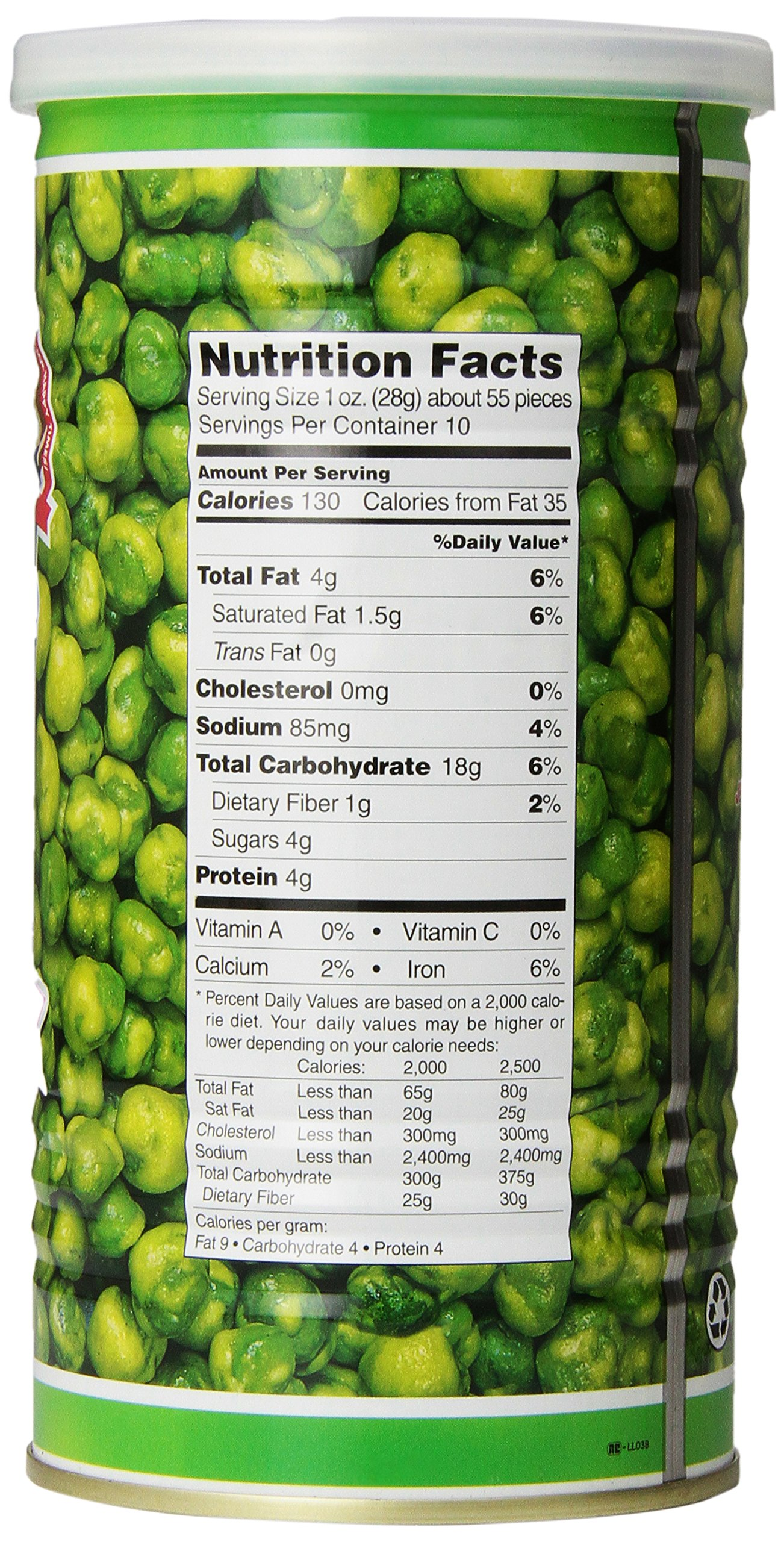 Hapi Snacks Hot Wasabi Peas 9.90oz by HAPI (Image #5)