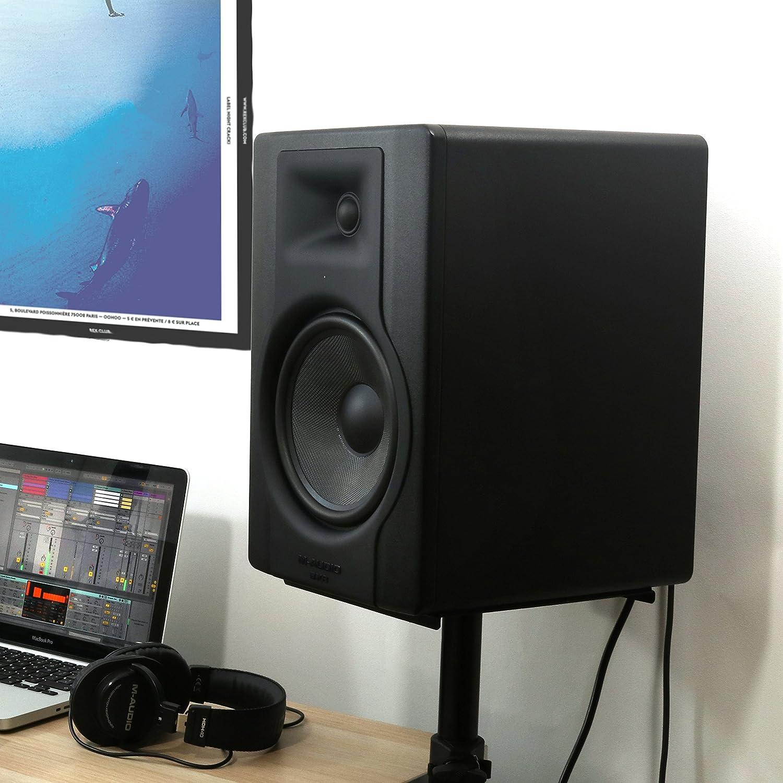 """M-Audio BX5 D3 Monitor da Studio Attivo Biamplificato da 100 W con Woofer da 5"""" e Controllo Acoustic Space, Riferimento per Produzione Musicale e Mixaggio inMusic Europe Limited"""