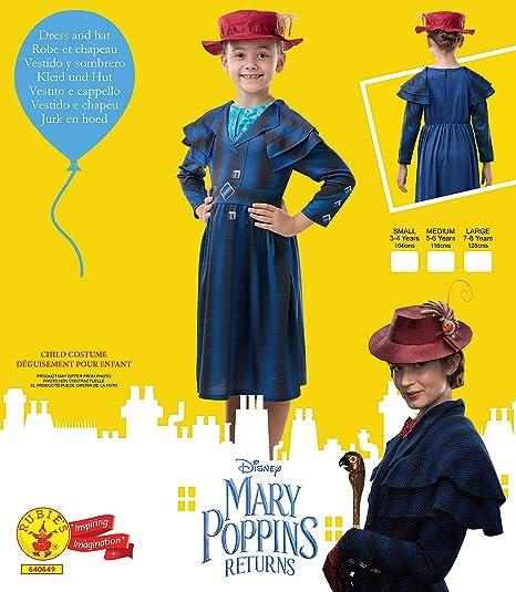 RAGAZZE Mary Poppins ritorna GIORNATA MONDIALE DEL LIBRO COSTUME o BORSA ED OMBRELLO PER LE DONNE