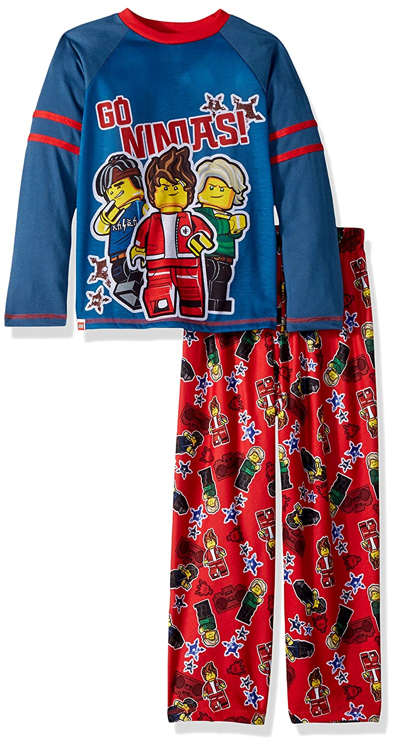 LEGO Ninjago Boys 2 pc Pajama Set Long Sleeve with Pant