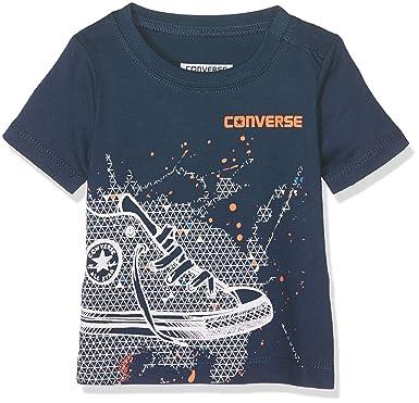 402072dd151 Converse Baby Boys  Sneaker Splatter Tee T-Shirt