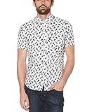 ORIGINAL PENGUIN Men's Short Sleeve Printed Button Down Shirt