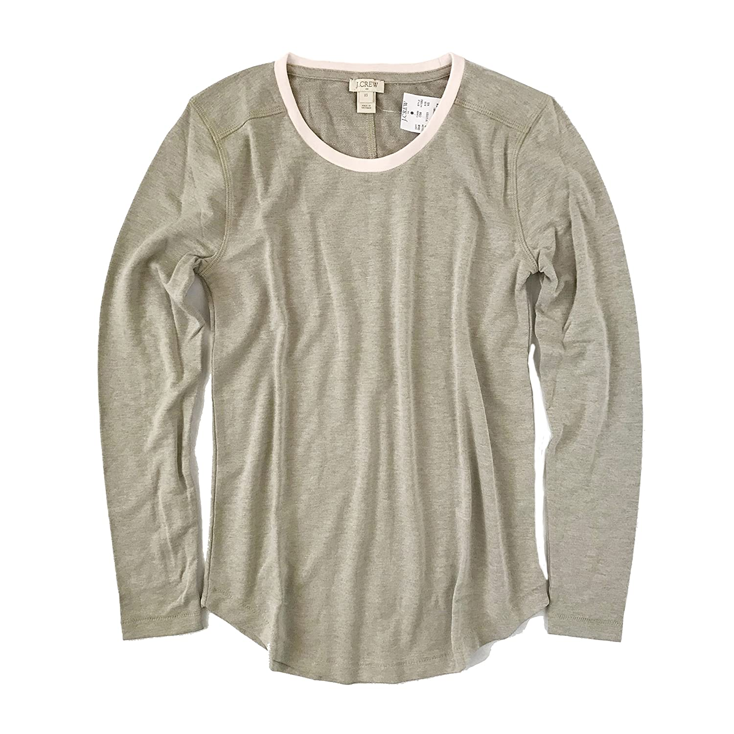 9e9f42d1 J Crew Factory - Women's Supercomfy Sweatshirt Tee at Amazon Women's  Clothing store: