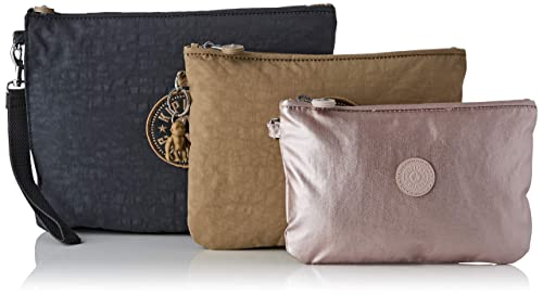 Kipling - Iaka L Wristlet, Monederos Mujer, Gris (Night Grey ...