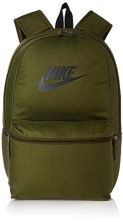02cfd6383 Nike Nk Heritage Bkpk Unisex Adult Backpack, unisex adult, BA5749,  Multicolore (Olive