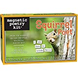 Magnetic Poetry - Squirrel Poet Kit - Words for Refrigerator - Write Poems and Letters on the Fridge - Made in the USA