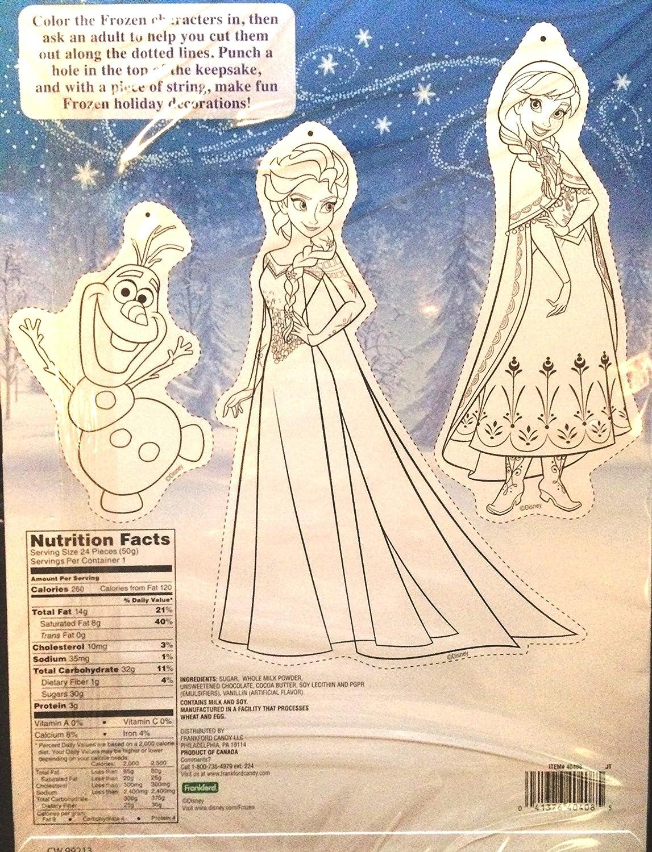 Disney Frozen ANNA /& ELSA Countdown 24 Chocolates Advent December Christmas Calendar
