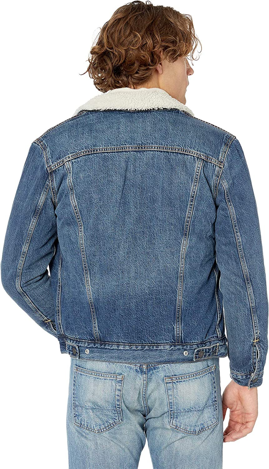 Levis¿ Mens Mens Type III Sherpa Trucker Jacket Mays Small