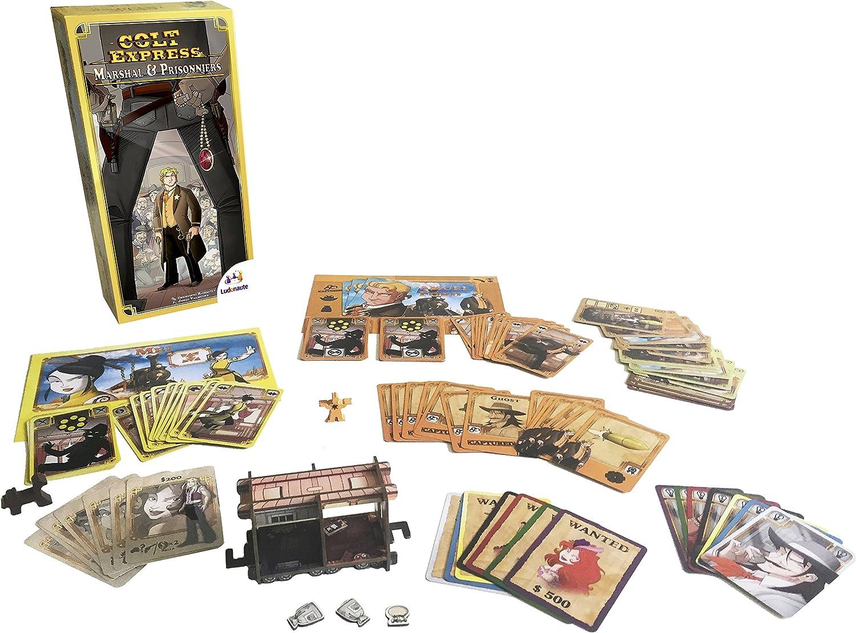 Ludonaute asmludcoex03en Colt Express Marshal und Gefangenen - Ampliación de señal: Amazon.es: Juguetes y juegos