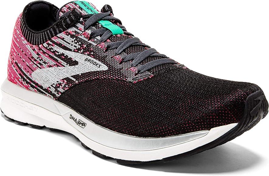 Brooks Ricochet, Zapatillas de Running para Niñas, Multicolor (Pink/Black/Aqua 678), 35.5 EU: Amazon.es: Zapatos y complementos