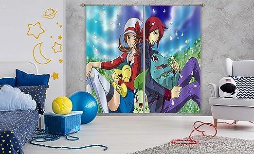 Aj Wallpaper 3d Pokemon 869 Japan Anime Blockout Cortina