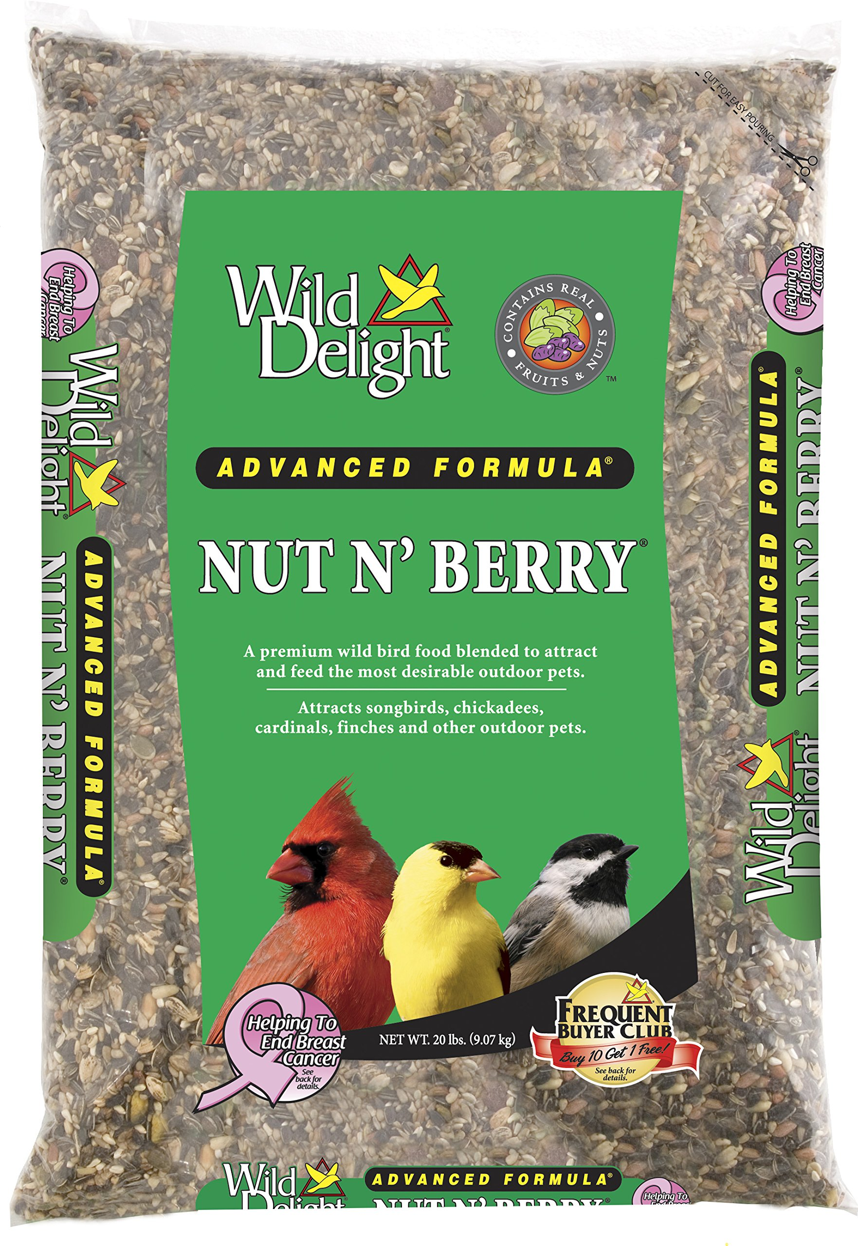 Wild Delight Nut N' Berry, 20 lb