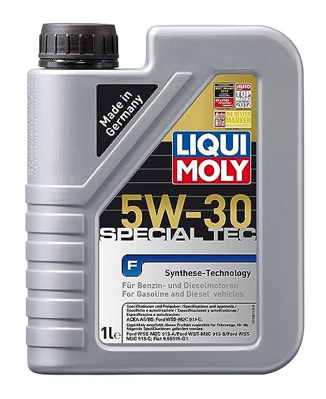 Liqui Moly 3852 Leichtlauf Special F 5W-30 - Aceite antifricción con tecnología HC para