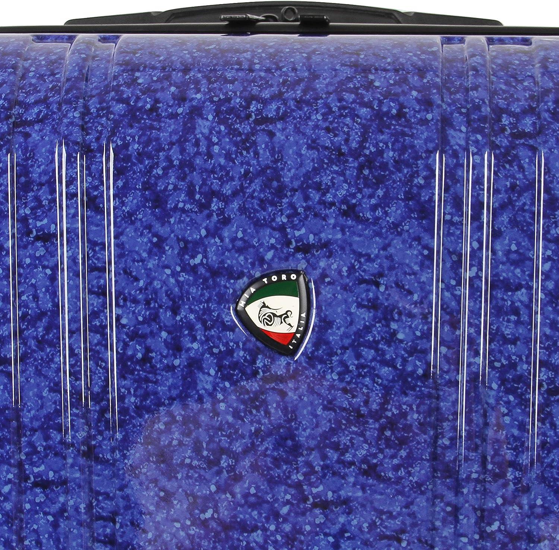 Mia Toro Italy Gita Hardside 24 Spinner Blue
