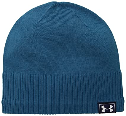 Amazon.com  Under Armour Men s ColdGear Reactor Knit Beanie 7a1ca0730aa
