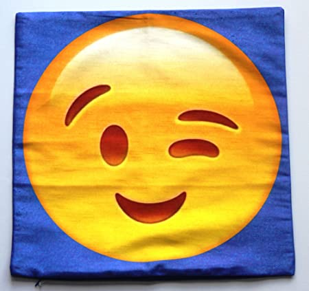 """18/"""" 46cm Emoji Big Cushion Cover"""