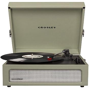 Crosley CR8017A-SA Voyager Vintage Portable Turntable