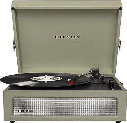 Amazon.com: Crosley Voyager - Tocadiscos portátil con ...