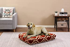 Beatrice Home Fashions India PET Pillow 26x36x4 Scarlet, Multicolor (INDPPL36SCLT)