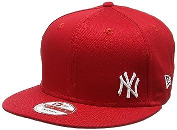 01edc7d373748 New Era Men's Ny Yankees Flawless 9Fifty Snapback Baseball Cap, Red  (Scarlet),