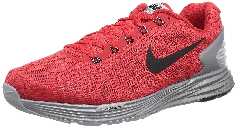 d2fe48ca19f0 NIKE Men s Lunarglide 6 Flash Running Shoe Red Size  10.5 UK  Amazon ...