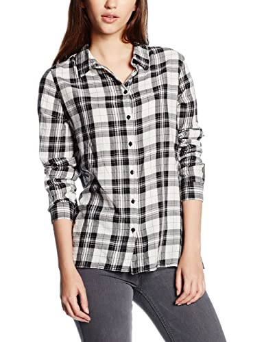 Only Onlstockholm Cici L/S Shirt Noos Wvn, Blusa para Mujer