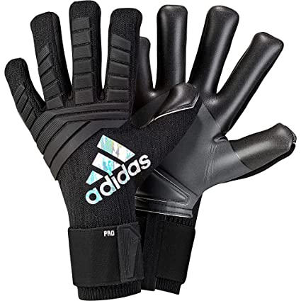 bcd89931d ... free shipping adidas soccer predator pro goalkeeper gloves black size  10 ca1c7 d3313