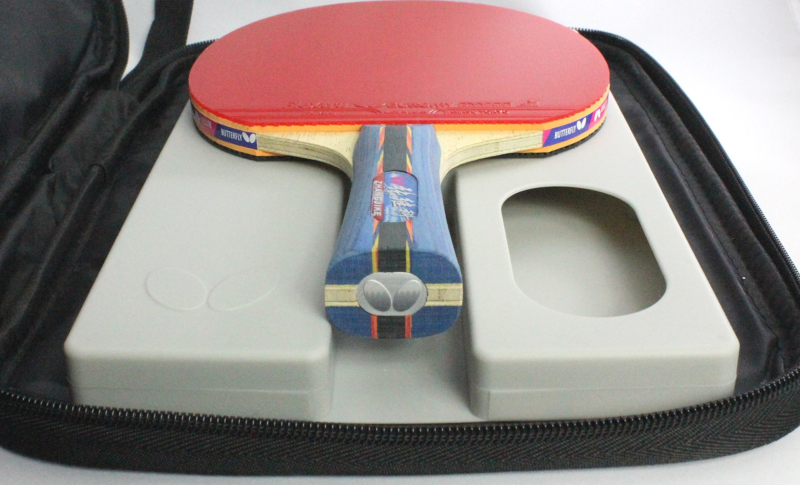 Buttefly Zhang Jike Racket and Case Box Set by Butterfly