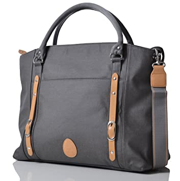 0bf81272df2bf Image Unavailable. Image not available for. Colour: PacaPod Mirano Pewter Designer  Baby Changing Bag - Luxury ...