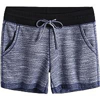 Weintee Women's Elastic Waist Lounge Sweat Shorts