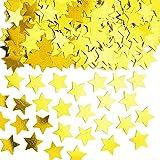 Confettis De Table Etoiles Or - Taille Unique