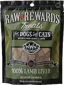 Northwest Naturals Raw Rewards Freeze Dried Liver Treats (Lamb)