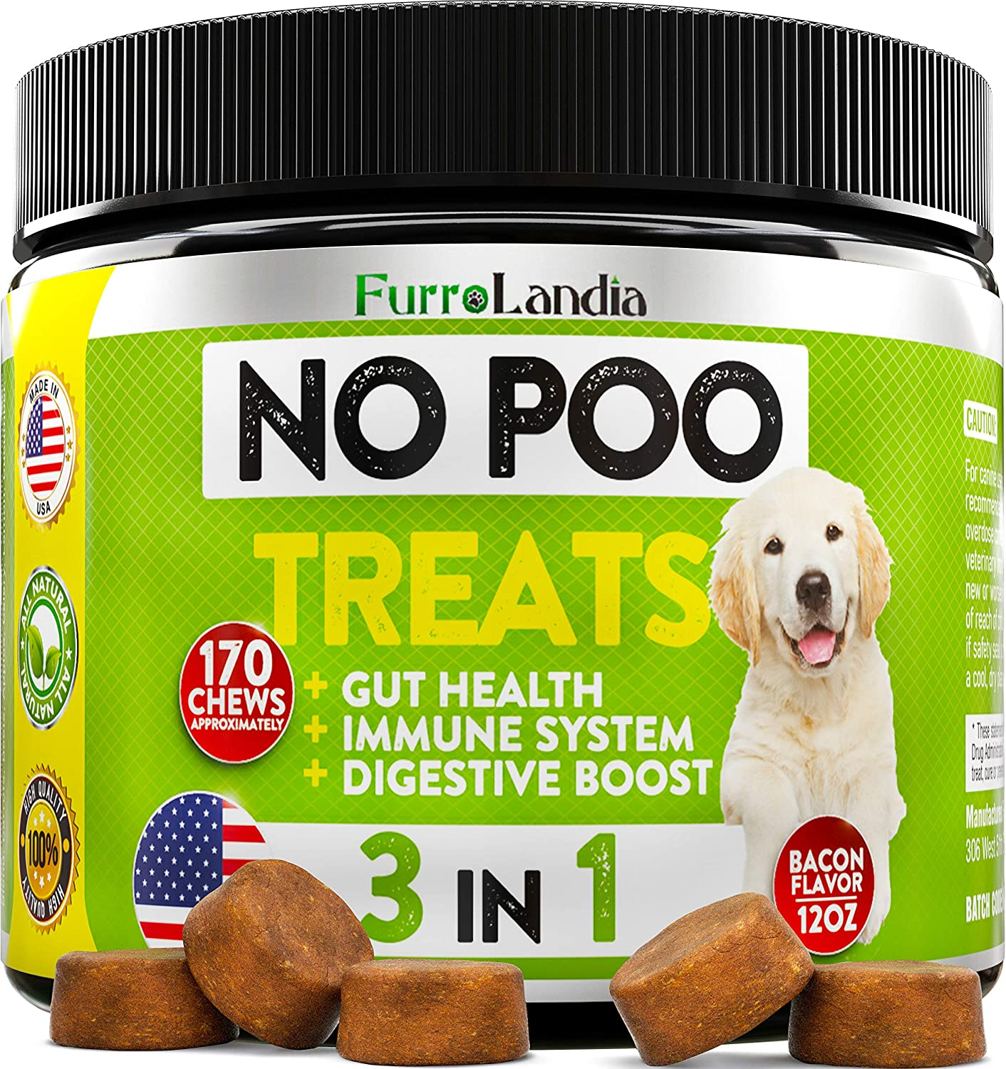 does canned pumpkin stop dogs from eating poop