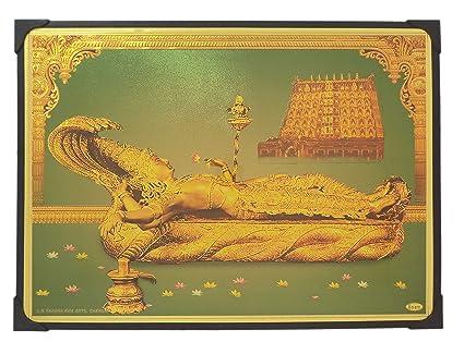 Buy Lord Anantha Padmanabha Photo Frame ( 30.5 cm x 22.5 cm x 1 cm ...
